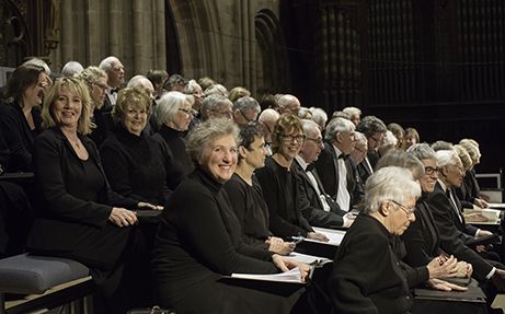 About the Worcester Festival Choral Society